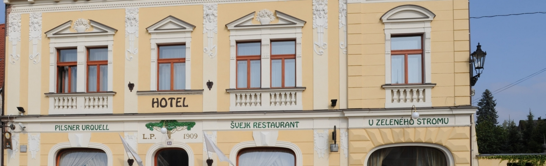 Hotel a Švejk restaurant U Zeleného stromu