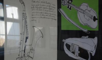 Výstava prací žáků výtvarného oboru ZUŠ Nepomuk