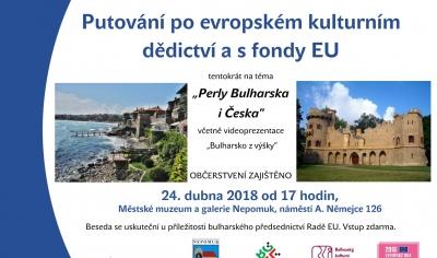 Přednáška Perly Bulharska i Česka