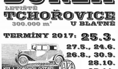 Auto-moto, antik & sběratelská burza Tchořovice - září