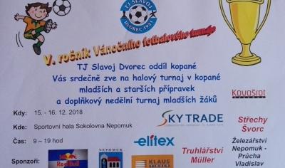 Vánoční fotbalový turnaj
