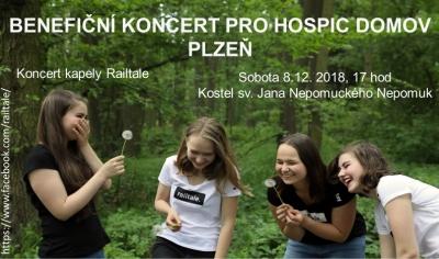 Benefiční vánoční koncert na podporu mobilního hospicu Domov Plzeň