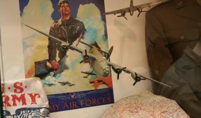 Pietní akt k 75. výročí sestřelení amerického bombardéru Liberator