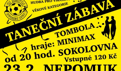 Taneční zábava v Sokolovně