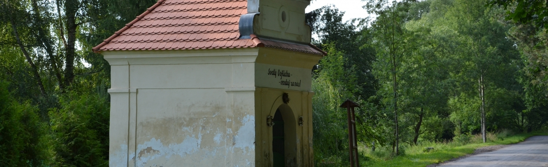 "Kapelle ""Fußspur"" des hl. Adalbert"