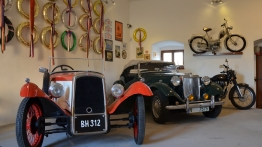Zelená Hora Post Office – Vintage Motorcycle and Technology Museum