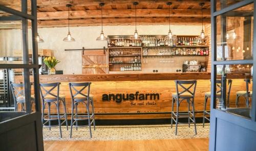 Angusfarm Soběsuky - famous restaurant and hotel