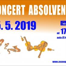 koncert absolventů 15 5 2019