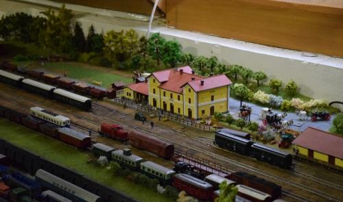 Historical and Model Railroad in Vrčeň