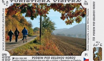 Podzim pod Zelenou horou - pochod KČT