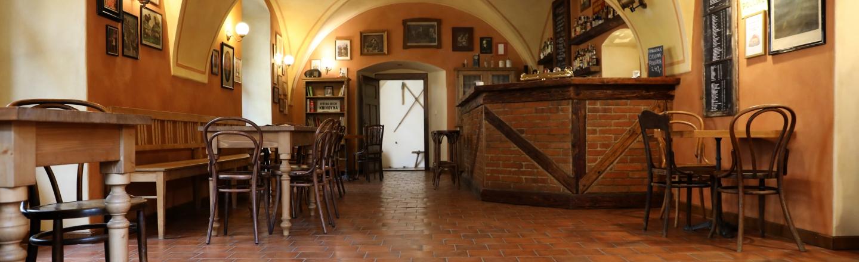Kavárna na Zelenohorské poště