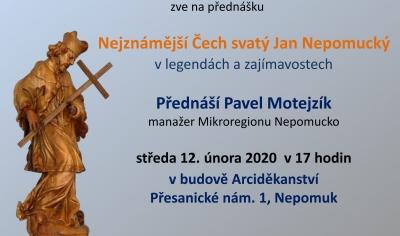 Nejznámější Čech svatý Jan Nepomucký v legendách a zajímavostech