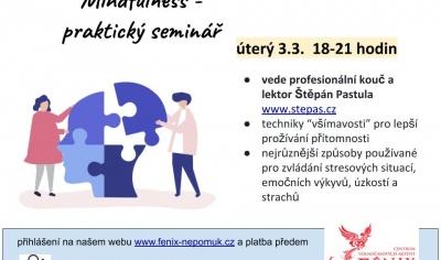 Mindfulness - praktický seminář