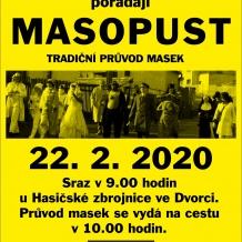 Masopust Dvorec 22.02.2020