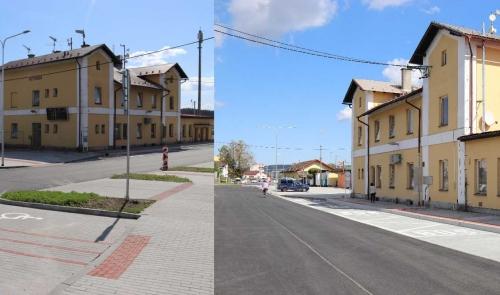 Nádraží ČD Nepomuk, Dvorec