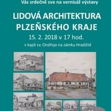 Plakát Lidová architektura