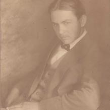 J. Hodek na snímku Fr. Drtikola