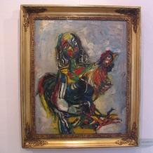 Jiri Karmazin -vystava obrazu v Mest. muzeu  24.06.07 v Blatn__ 001
