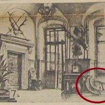 Sibiřské saně zdobené řezbou Zapůjčil Národní památkový ústav, územní památková správa v Českých Budějovicích. Dlouhodobě umístěno na Státním hradu a zámku Horšovský Týn 19. století  Saně byly umístěné ve Šternberské chodbě v 1. poschodí, která vedla do galerie předků - dřívějších majitelů zámku. Saně byly darem od cara Alexandera II.